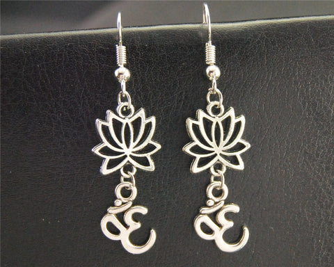 FREE - Lotus Namaste Earrings  (Just Cover Shipping)