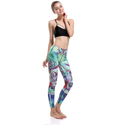 New Butterfly Yoga Leggings