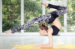 Black Phoenix Yoga Leggings