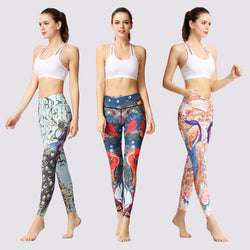 10 Pattern Yoga Leggings