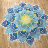 Lotus Beach Towel