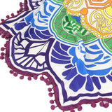 Mandala Summer Round Beach Towel