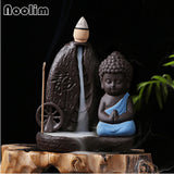 Little Monk Water Wheel Backflow Incense Burner