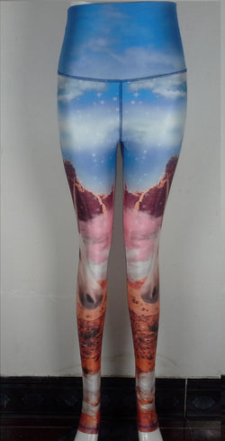 Unicorn Galaxy Yoga Leggings