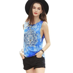 Mandala Women Sleeveless Tops
