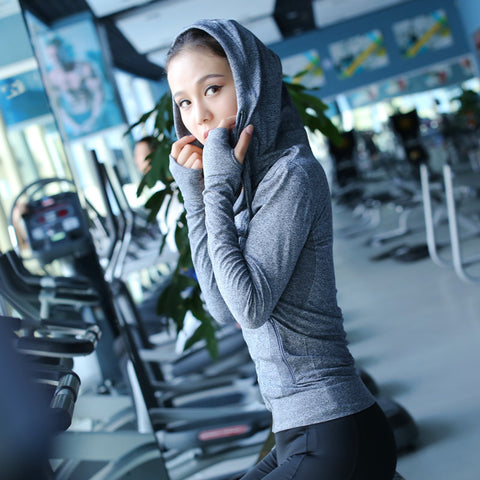 Long Sleeve Yoga Hoodies
