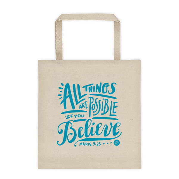 """All Things Possible"" Tote Bag"