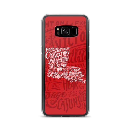 """Fight On Cajuns"" Samsung Case"