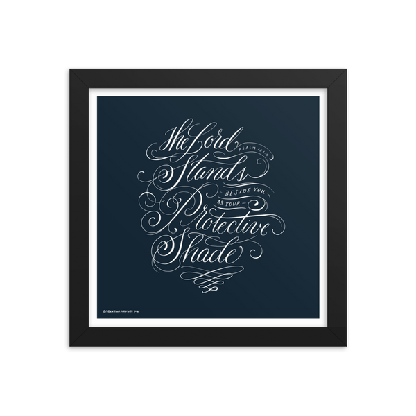 """Protective Shade"" Framed Print"