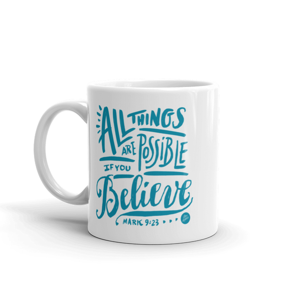 """All Things Possible"" Mug"