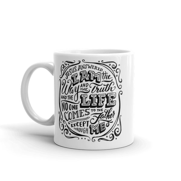 """The Way, The Truth, The Life"" Mug"