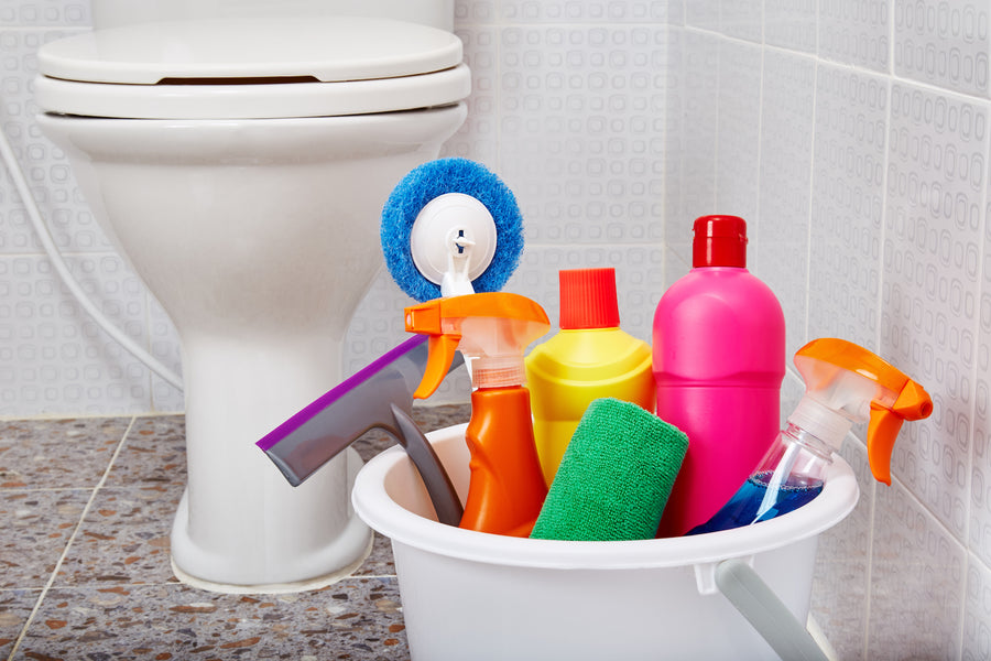 Make Impossible Bathroom Cleaning Chores Easier