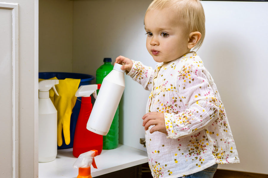 Are Your Cleaning Products Safe for Babies?