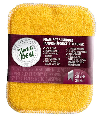 World's Best Pot Scrubber - Foam