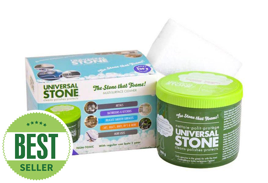 Eco-friendly cleaning products by Universal Stone. Safe for everyone in your home!