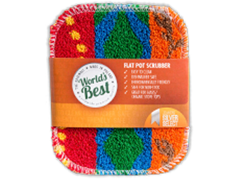 World's Best Pot Scrubber - Flat