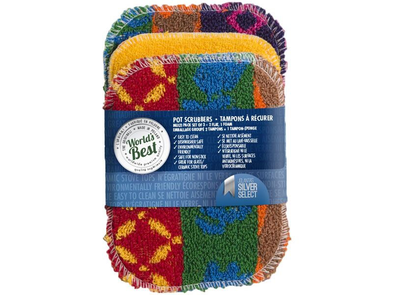 World's Best Pot Scrubber Multi Pack