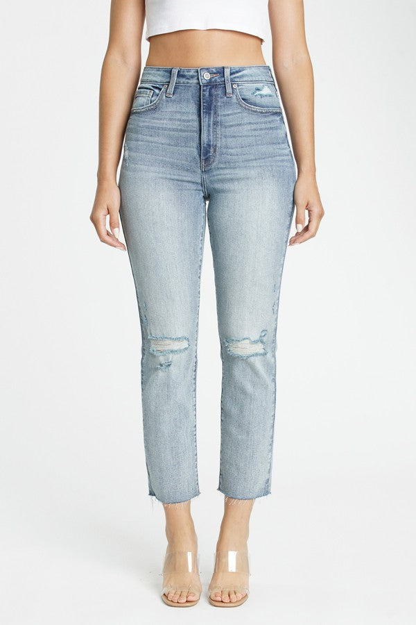 Ally Ultra HR Straight Crop Jean