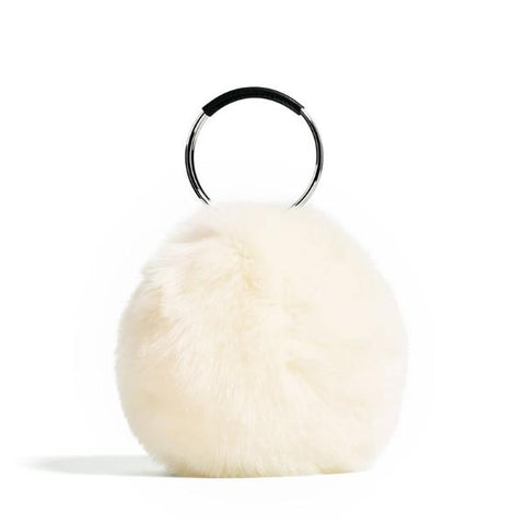 Coco Faux-Fur Handbag - My Beauty Cartel