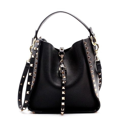 Elizabeth Rocker Studded Tote Bag - My Beauty Cartel