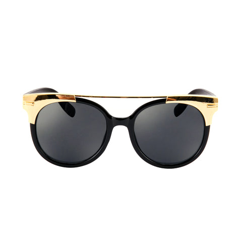 Golden Framed Cat Eye Sunglasses - My Beauty Cartel