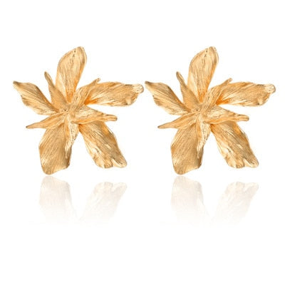 Oversized Flower Earrings - My Beauty Cartel