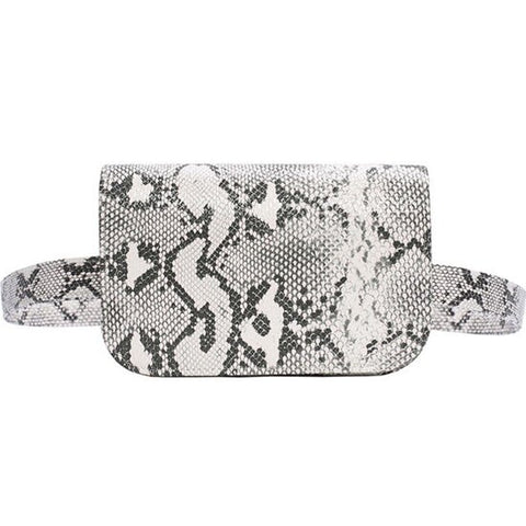 Faux-Snakeskin Waist Bag - My Beauty Cartel