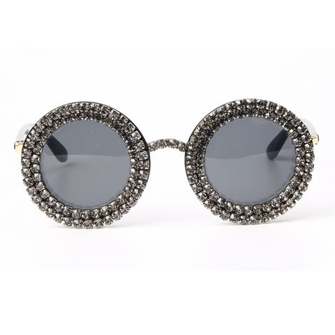 Swarovski Round Sunglasses - My Beauty Cartel