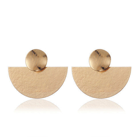 Gold Drop Earrings - My Beauty Cartel