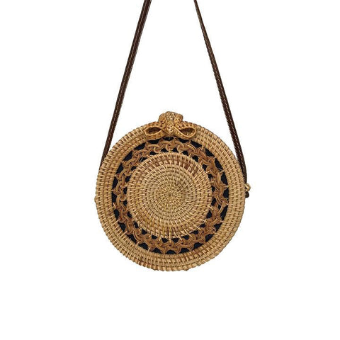 Handmade Circular Hollow Out Bag - My Beauty Cartel