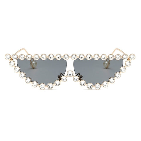 Crystal Embellished Sunglasses - My Beauty Cartel