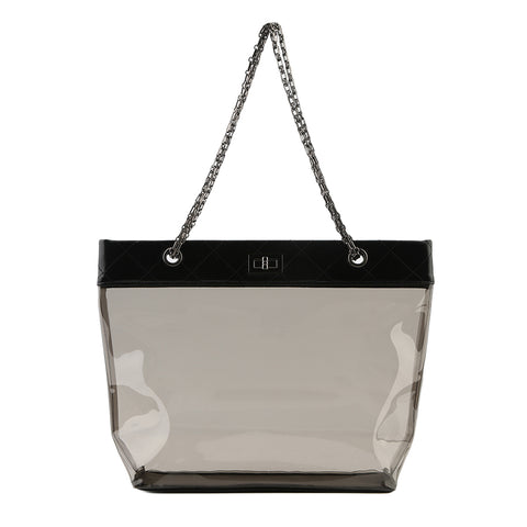 Clear Transparent Tote - My Beauty Cartel