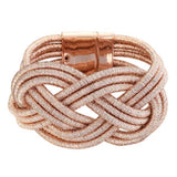 Metallic Knot Bracelet - My Beauty Cartel