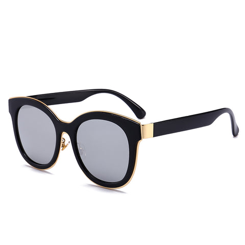 Retro Black-Frame Sunglasses - My Beauty Cartel