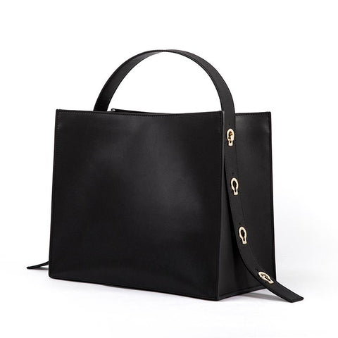 Genuine Calfskin Gabriela City-Tote - My Beauty Cartel