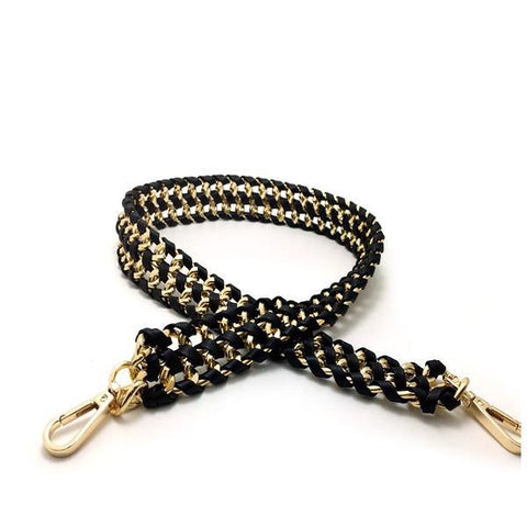 Geri Gold-Braided Belt-Strap - My Beauty Cartel