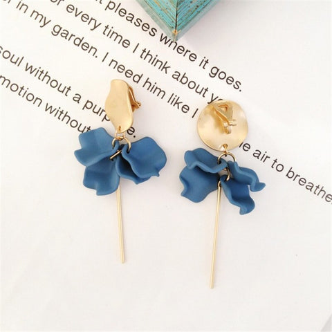 Petals Drop Earrings - My Beauty Cartel