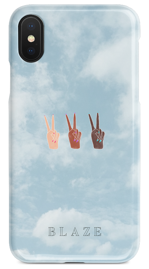 HEAD IN THE CLOUDS - iPHONE CASE