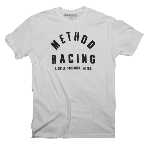 Men's Method Old School shirt (white)