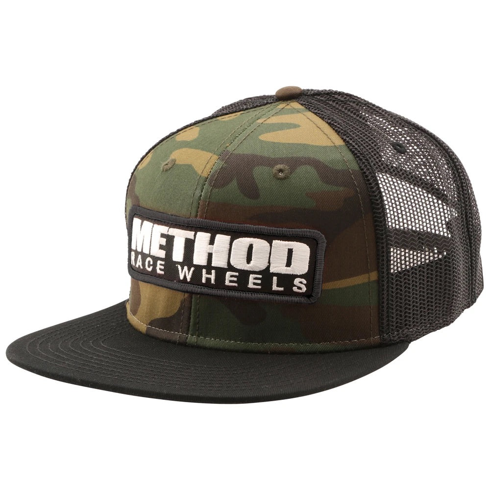 Method Camo Brand patch hat