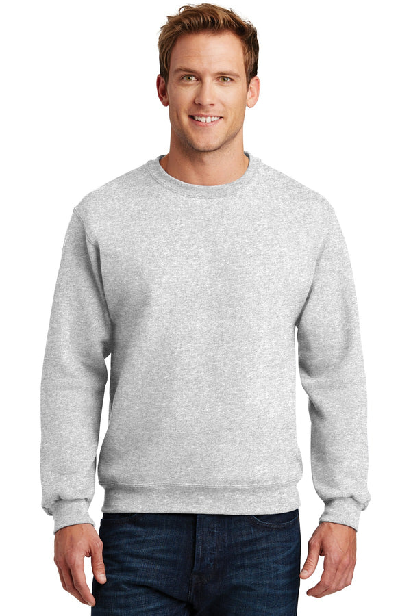 JERZEES® SUPER SWEATS® NuBlend® - Crewneck Sweatshirt.  4662M