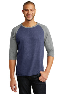 Anvil® Tri-Blend 3/4-Sleeve Raglan Tee. AN6755