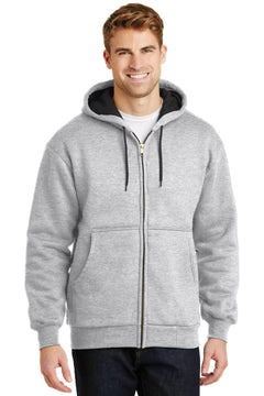 CornerStone® - Heavyweight Full-Zip Hooded Sweatshirt with Thermal Lining.  CS620