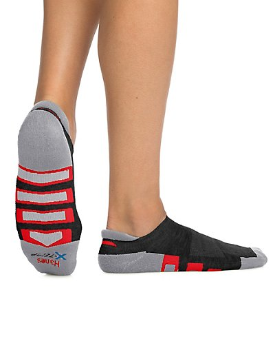 Hanes Men's X-Temp® Active Cool Heel Shield® Socks 4-Pack