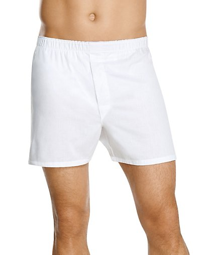 Hanes Men's TAGLESS® Full-Cut Boxer with Comfort Flex® Waistband 4-Pack