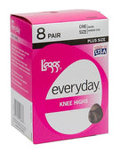 L'eggs Everyday Knee High 8 Pair Pack