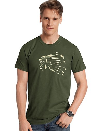 Hanes Men's The Chief Graphic Tee
