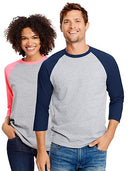 Hanes Unisex X-Temp Performance Baseball Tee
