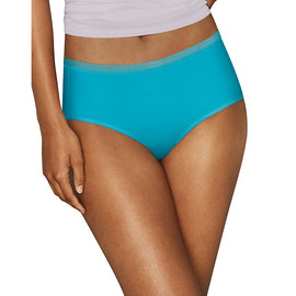 Hanes Signature Microfiber Breathe Briefs 6-Pack