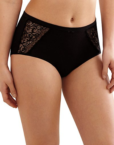 Bali Lace Desire Cotton Brief